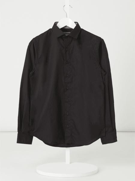 Czarna koszula dziecięca G.o.l. z bawełny
