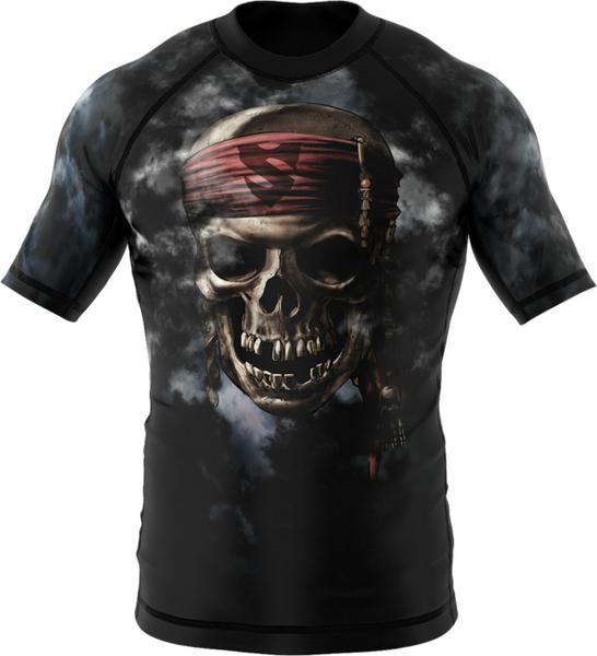 Czarna koszulka dziecięca Smmash z krótkim rękawem z tkaniny