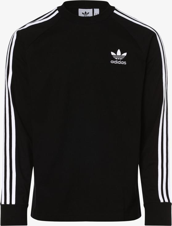 Czarna koszulka z długim rękawem Adidas Originals