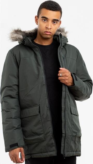 Czarna kurtka Adidas Originals z żakardu