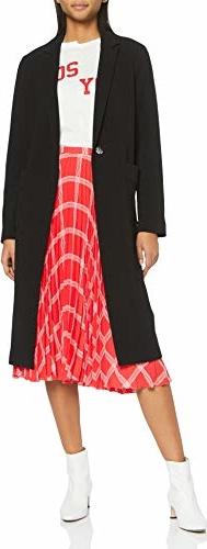 Czarna kurtka amazon.de krótka w stylu casual