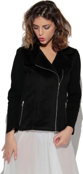 Czarna kurtka CAHA z dzianiny w stylu casual