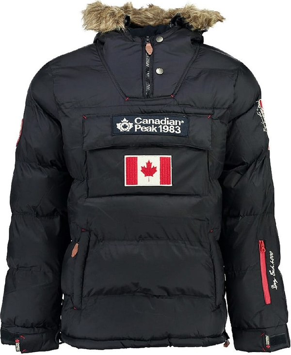 Czarna kurtka Canadian Peak