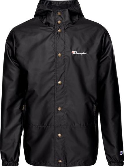 Czarna kurtka Champion w stylu casual