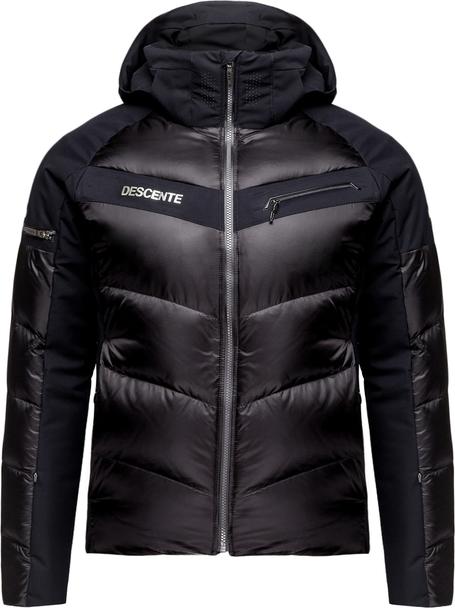 Czarna kurtka Descente w stylu casual