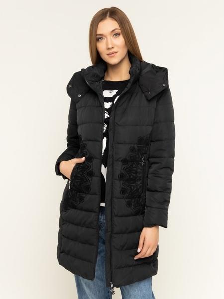 Czarna kurtka Desigual w stylu casual