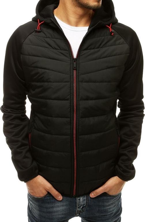 Czarna kurtka Dstreet krótka z bawełny