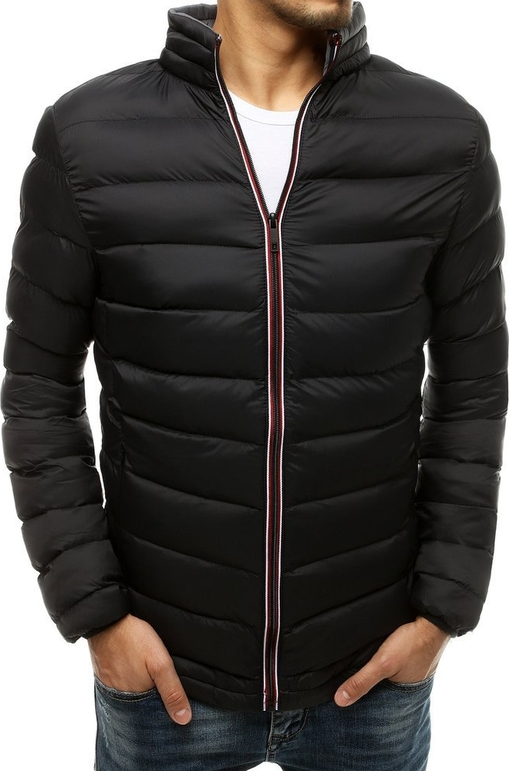 Czarna kurtka Dstreet w stylu casual