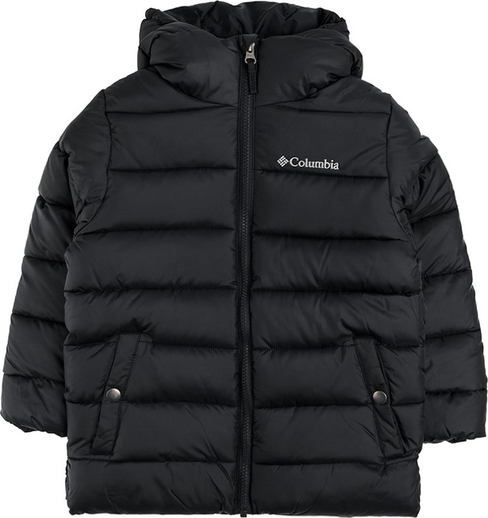 Czarna kurtka dziecięca Columbia