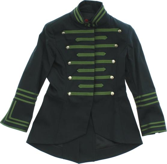 Czarna kurtka dziecięca john richmond z bawełny