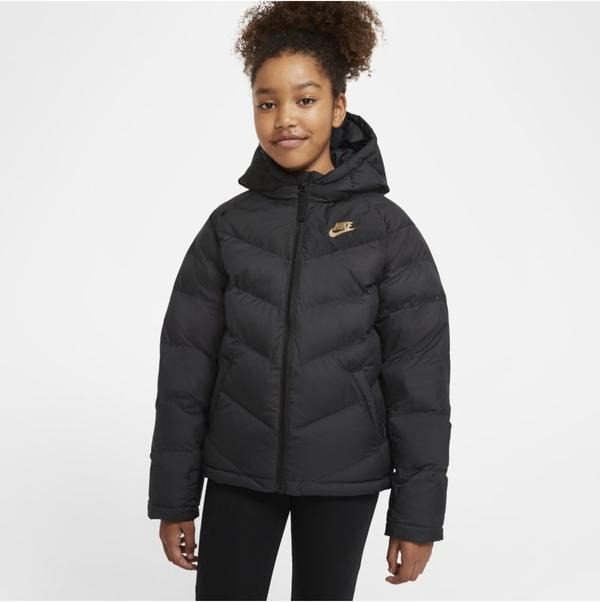 Czarna kurtka dziecięca Nike