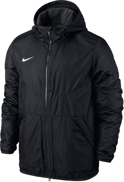 Czarna kurtka dziecięca Nike Team z plaru