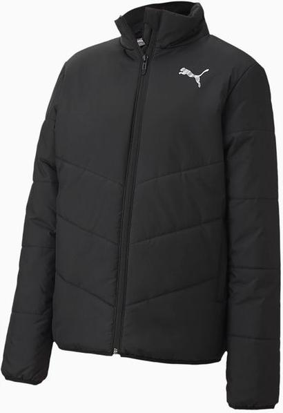 Czarna kurtka dziecięca Puma dla dziewczynek