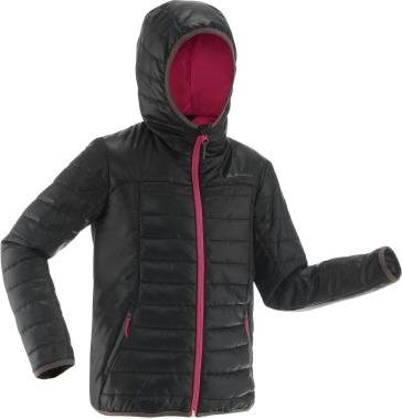 Czarna kurtka dziecięca Quechua