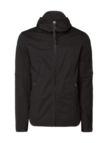 Czarna kurtka G-Star Raw z bawełny w młodzieżowym stylu