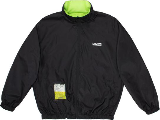 Czarna kurtka HERMETIC SQUARE w stylu casual krótka