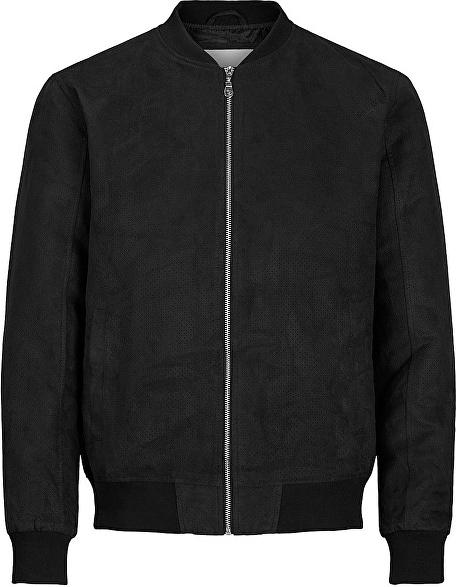 Czarna kurtka Jack & Jones w stylu casual