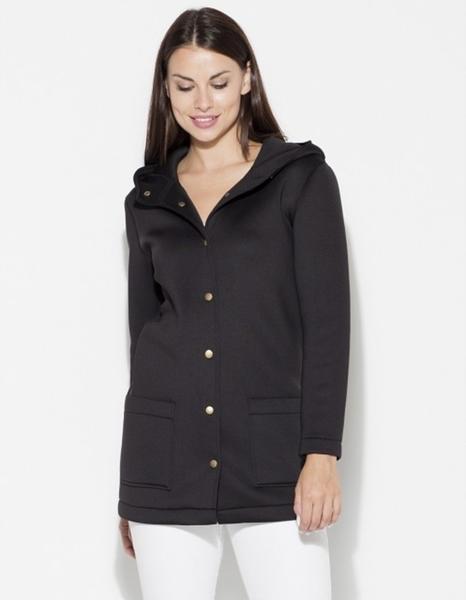 Czarna kurtka LENITIF w stylu casual