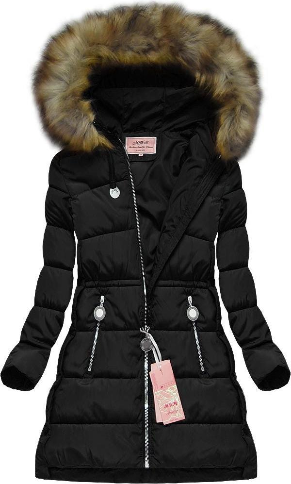 Czarna kurtka Mhm w stylu casual
