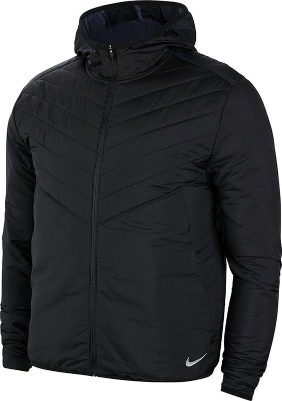 Czarna kurtka Nike w stylu casual krótka