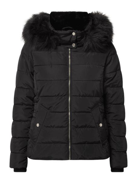 Czarna kurtka Only krótka w stylu casual