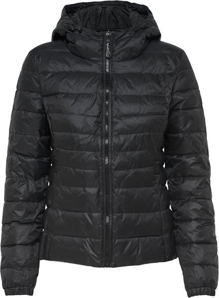 Czarna kurtka Only w stylu casual krótka