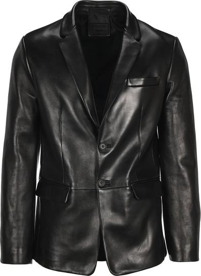 Czarna kurtka Prada