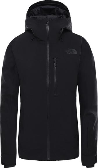 Czarna kurtka The North Face z tkaniny w stylu casual