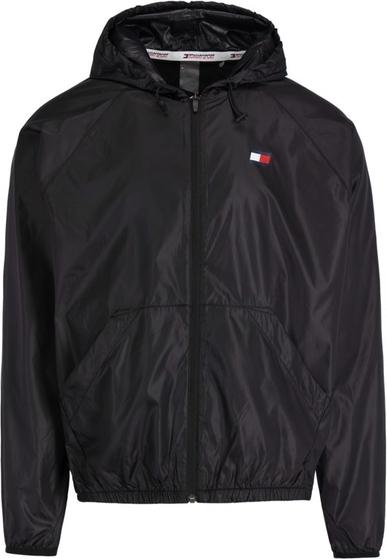 Czarna kurtka Tommy Sport w stylu casual