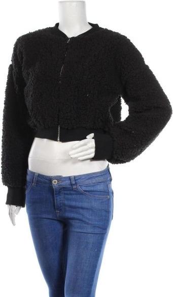 Czarna kurtka Top Fashion krótka