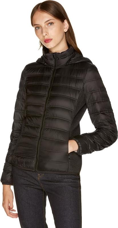 Czarna kurtka United Colors Of Benetton w stylu casual