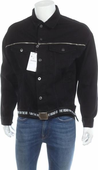 Czarna kurtka Zara Man w stylu casual