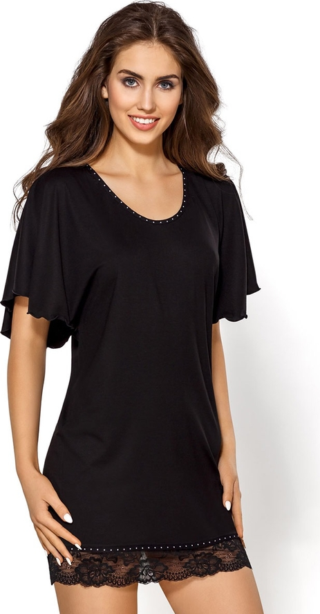 Czarna piżama hamana