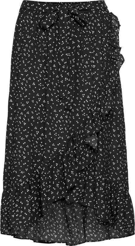 Czarna spódnica bonprix bodyflirt midi