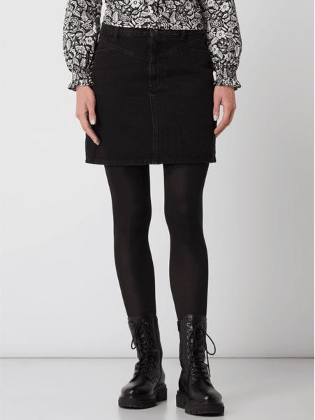 Czarna spódnica Jake*s Casual z jeansu