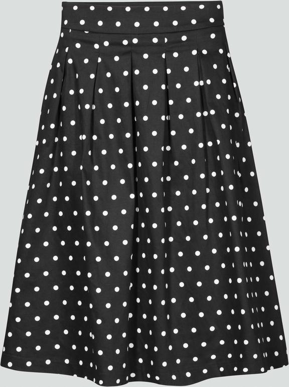 Czarna spódnica orsay midi w stylu retro