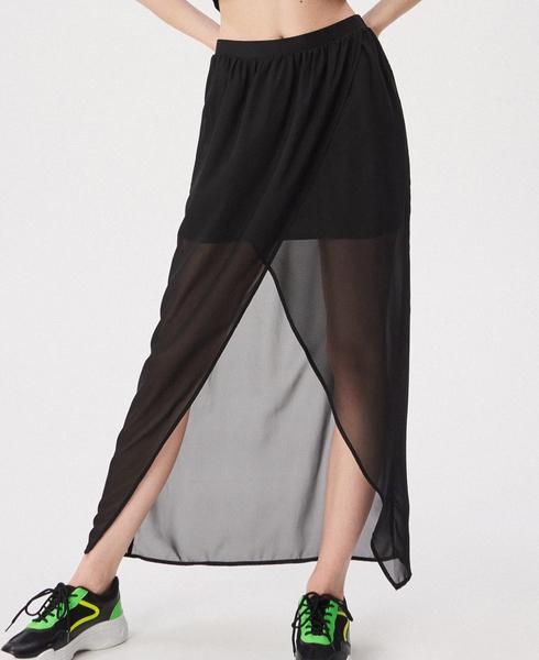 Czarna spódnica Sinsay midi