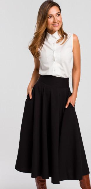 Czarna spódnica Style midi