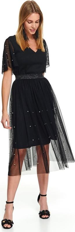 Czarna spódnica Top Secret z tiulu