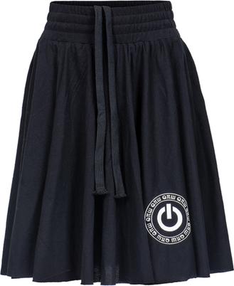 Czarna spódniczka dziewczęca Robert Kupisz z bawełny