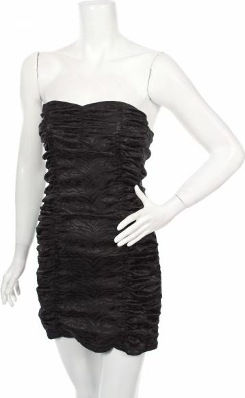 Czarna sukienka Amazing bez rękawów mini