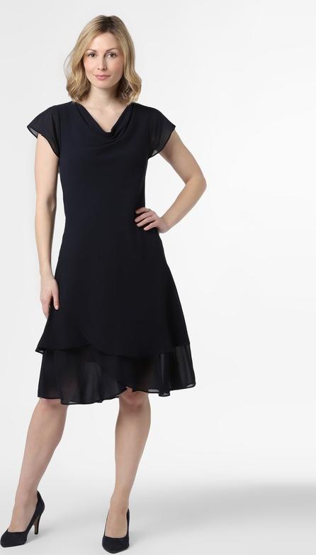 Czarna sukienka Ambiance midi