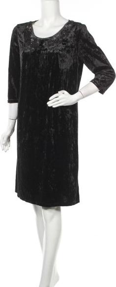 Czarna sukienka Blue Shadow