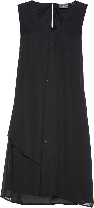 Czarna sukienka bonprix bpc selection premium w stylu casual