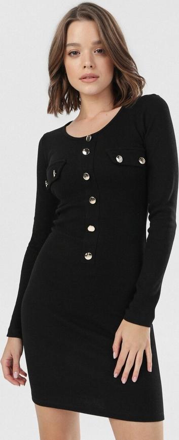 Czarna sukienka born2be