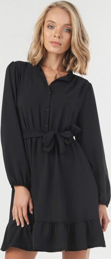 Czarna sukienka born2be mini