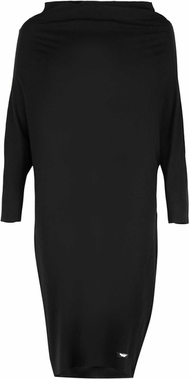 Czarna sukienka By Insomnia mini w stylu casual
