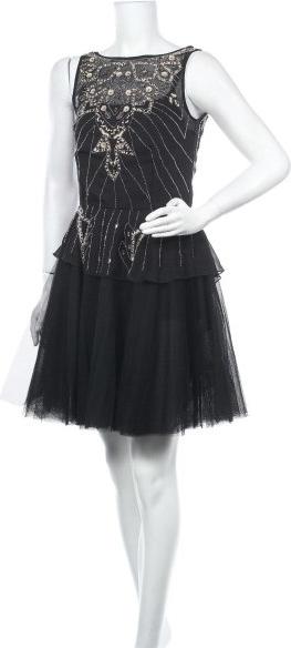 Czarna sukienka Derhy mini
