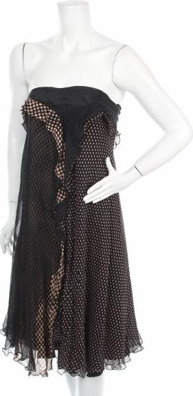 Czarna sukienka Fenn Wright Manson bez rękawów