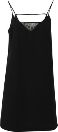 Czarna sukienka Firetrap mini z dekoltem w kształcie litery v